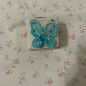 Antique butterfly box